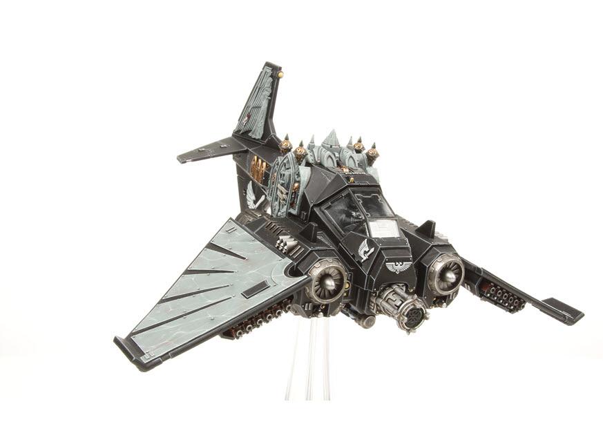Dark Angels Review: Flyers: Ravenwing Dark Talon | Frontline Gaming