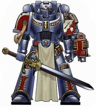 Warhammer 40K Space Marines Grey Knights Nemesis Warding Staff