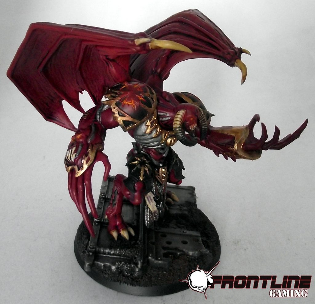 Chaos Space Marines Review Hq Daemon Prince Frontline