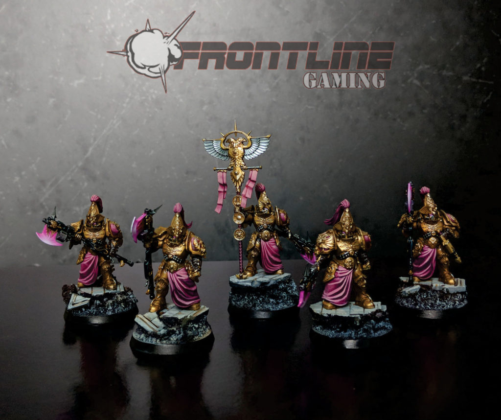 Completed Commission Adeptus Custodes