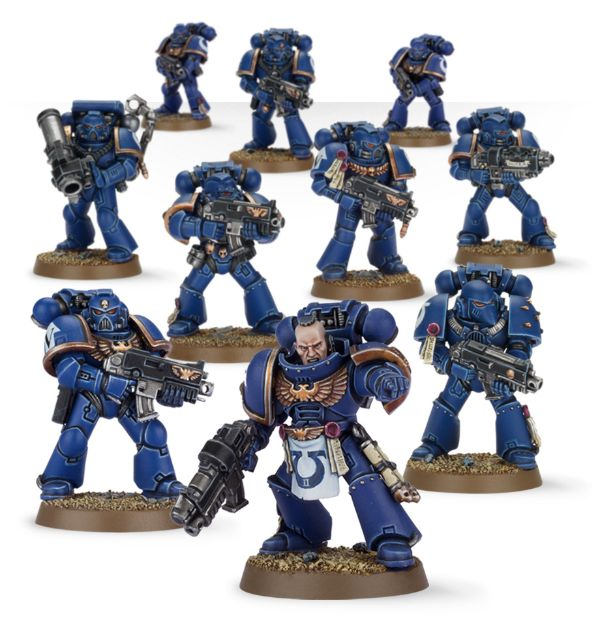Space Marine Review: Troops: Tactical Squad | Frontline Gaming