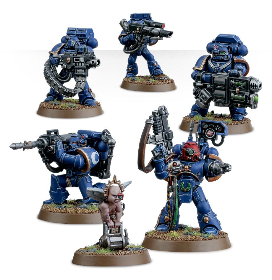 Tactical Squad Melta Space Marines Warhammer 40K Bits