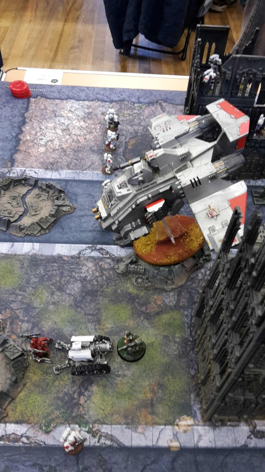 GFTW Tournament Game 2- White Scars vs Grey Knights