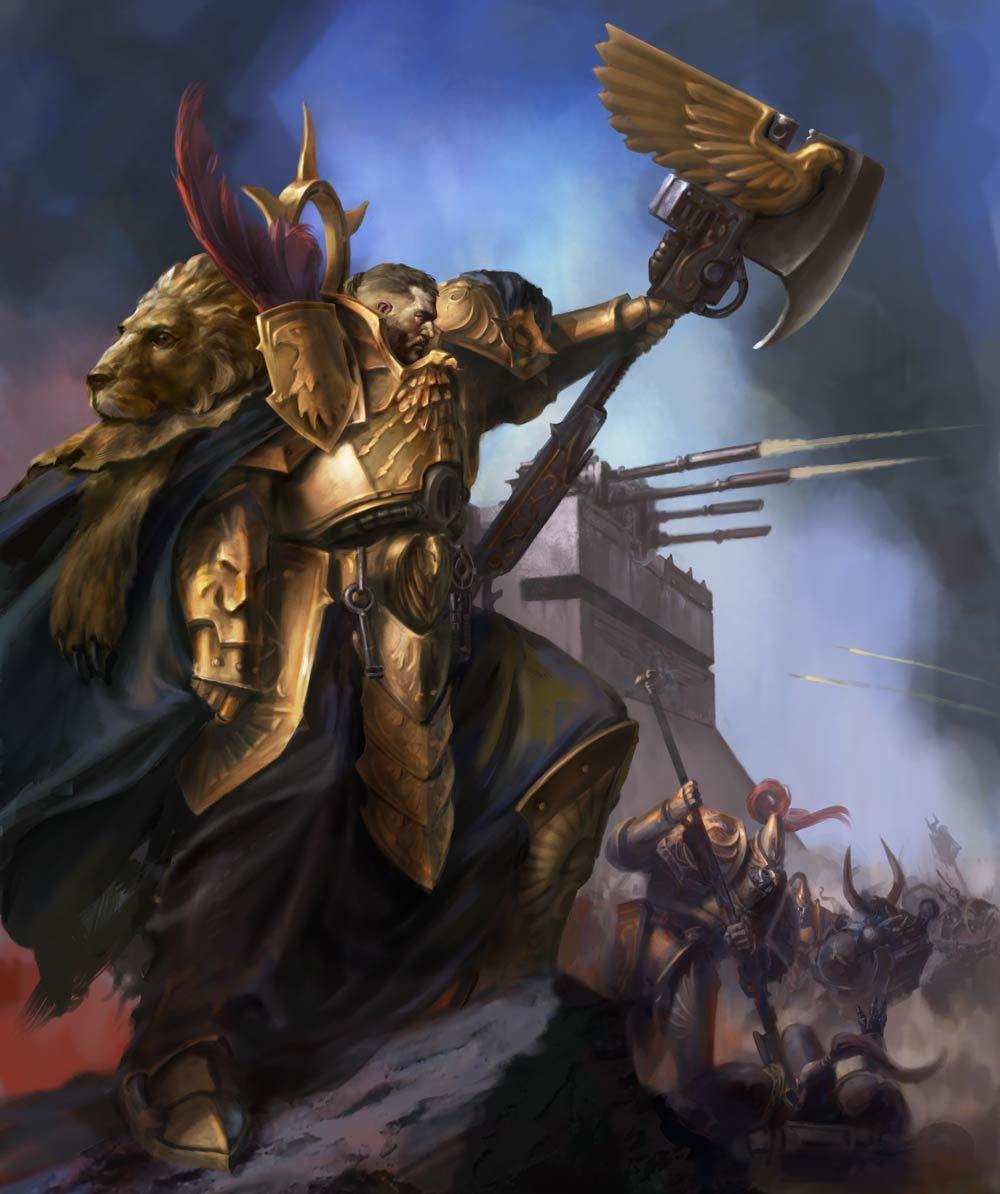 General Warhammer 40k Space Marines: Adeptus Custodes Codex Review: Captain-General Trajann