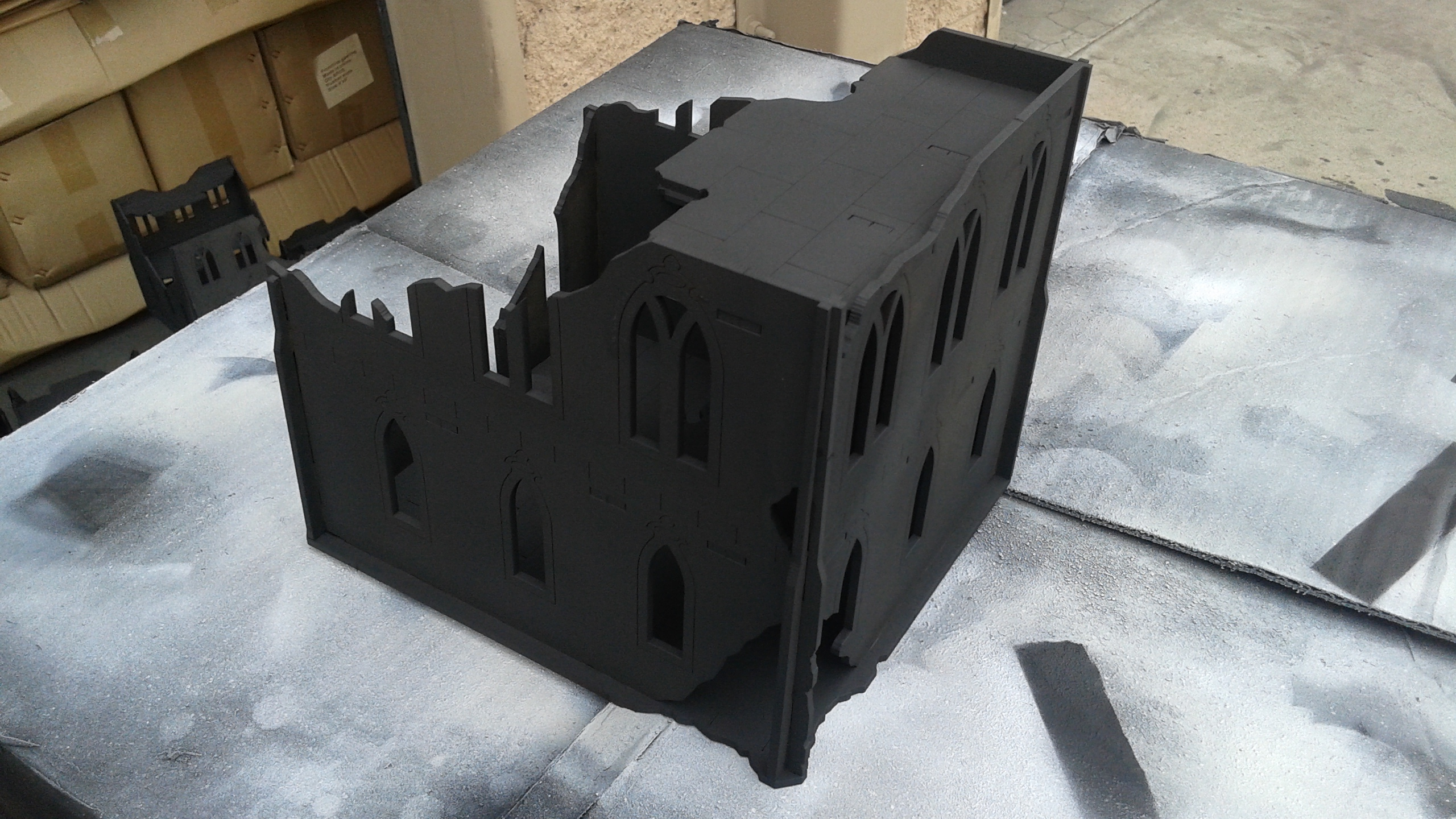 Hobby Tutorial: Quick and Easy Painting of the Gothic Ruins
