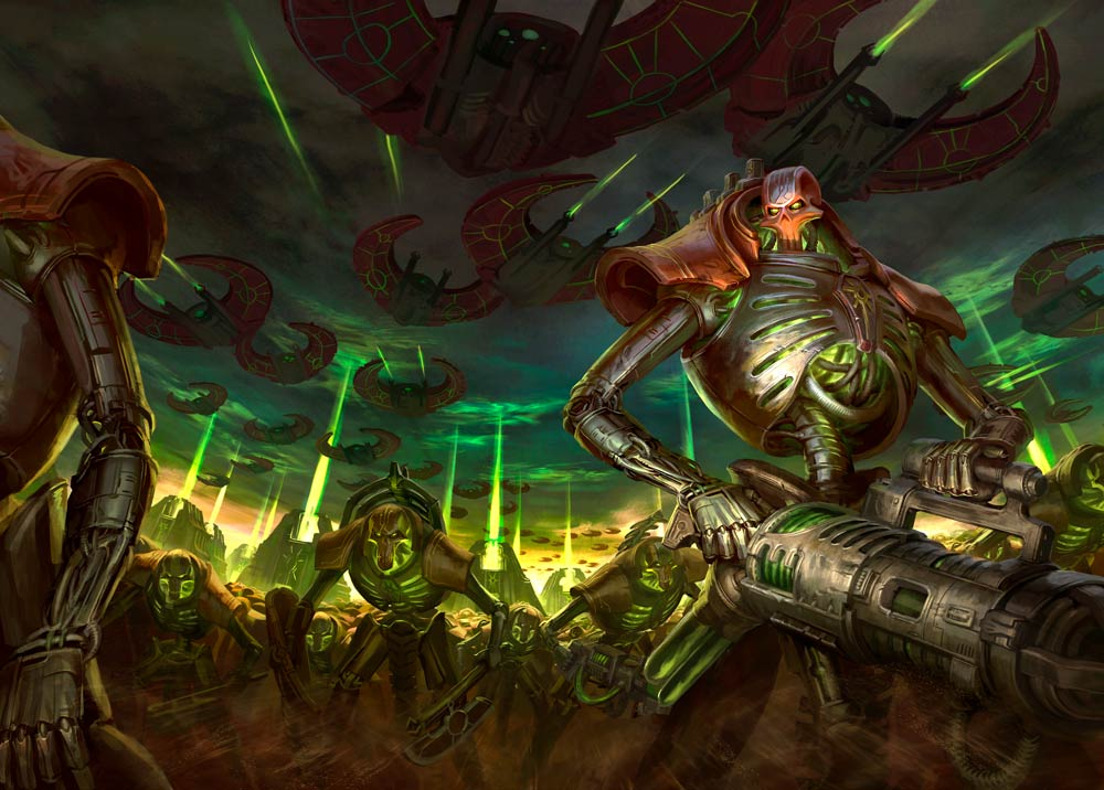 Tomes of the Librarius – Necrons 101   Frontline Gaming