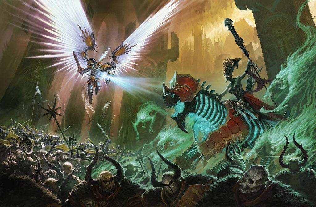 Stormcast vs death