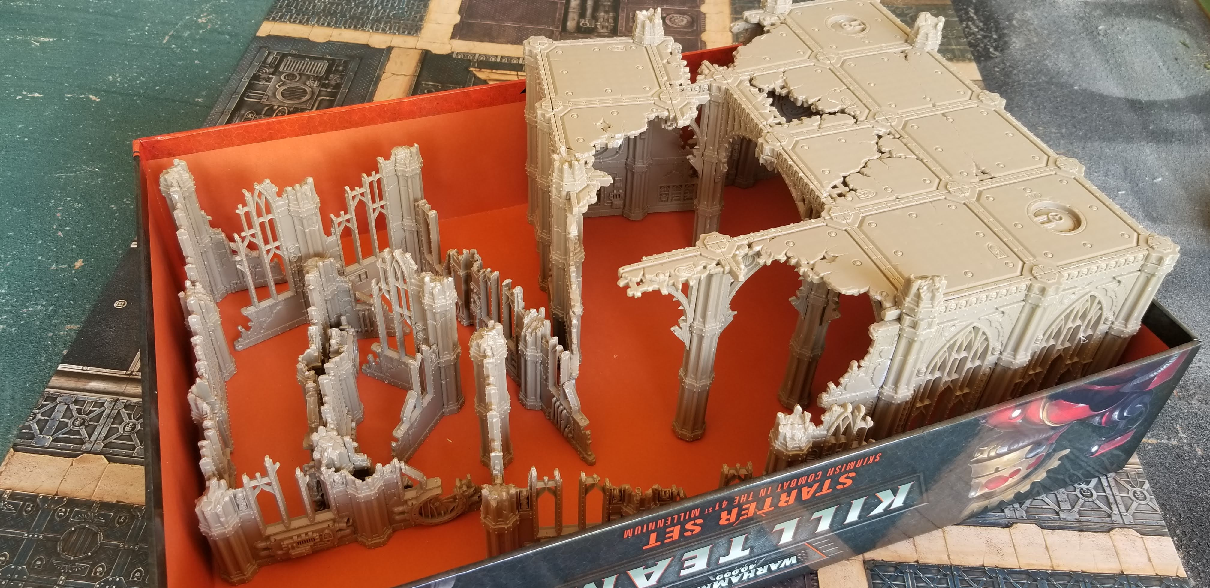 First Look: Sector Imperialis Terrain | Frontline Gaming