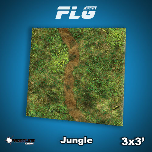Frontline Gaming - New FLG Mat: Last day of the Summer Super