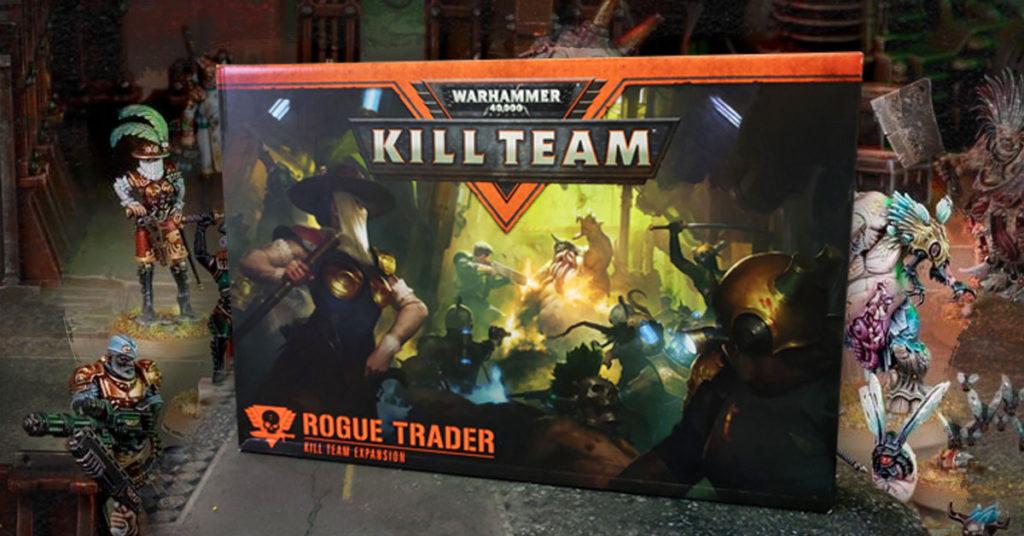 Games Workshop Warhammer 40.000 Kill Team Rogue Trader Deutsch