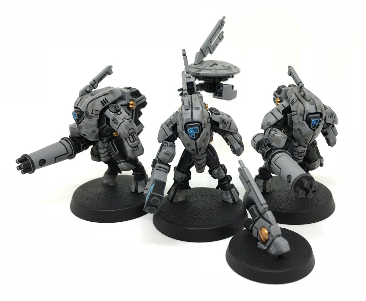Tau Codex Review: Elites: XV25 Stealth Suit   Frontline Gaming