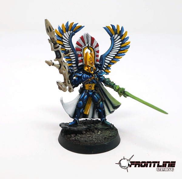 Completed Commission: Eldar Autrach With Wings