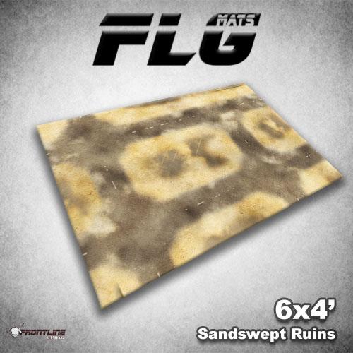 New FLG Mat: Sandswept Ruins | Frontline Gaming