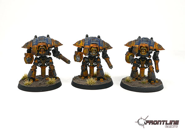 Completed Commission: Adeptus Titanicus Army | Frontline Gaming