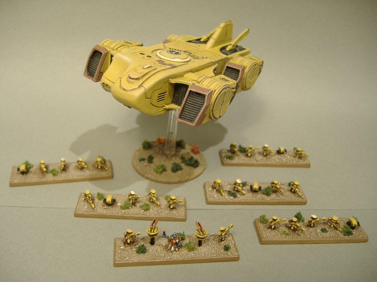 Tau Codex Review: Flyers: Orca Dropship | Frontline Gaming